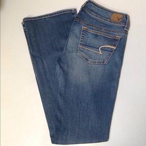 American Eagle Kick Boot Jean Ladies 6 Long
